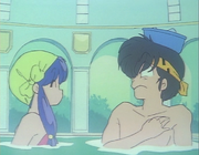 Ryoga meets Shampoo in baths