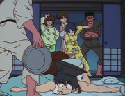 Ranma wakes - Back to Jusenkyo