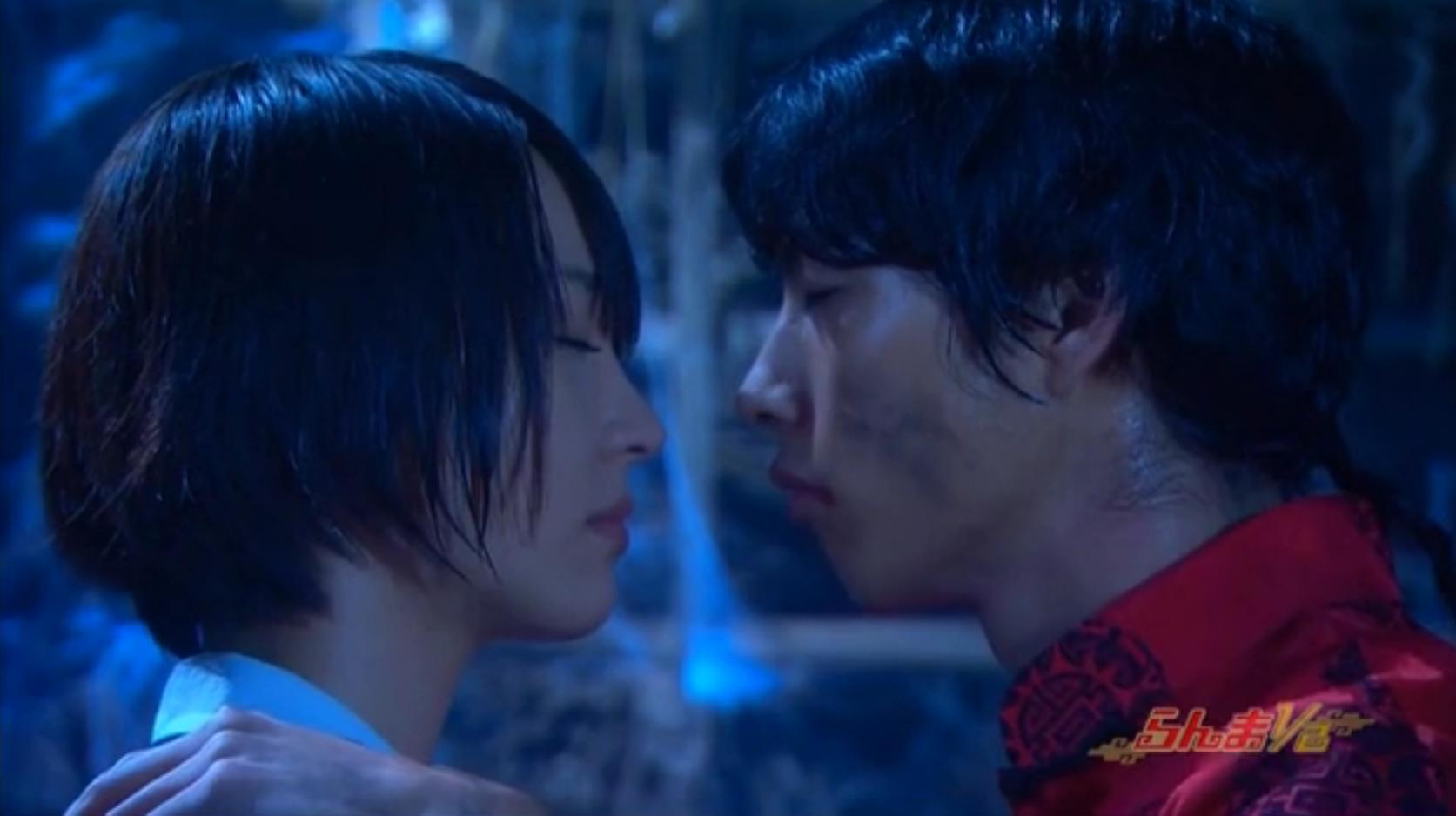 Akane And Ranma Nearly Kiss