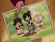 Happosai's photo with Natsume & Kurumi