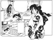 Konatsu in charge of Ucchan's