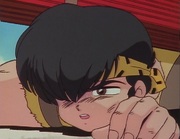 Ryoga collapses - Kiss of Love