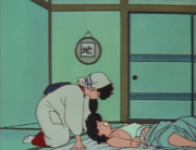 Ranma awakens to Kodachi