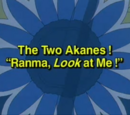 """The Two Akanes! """"Ranma, Look at Me!"""""""