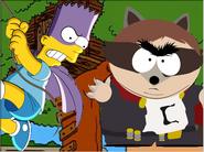 The coon vs bartman thumbnail