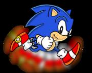 Classic Sonic - Running