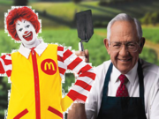 Dave Thomas Vs Ronald Mcdonald