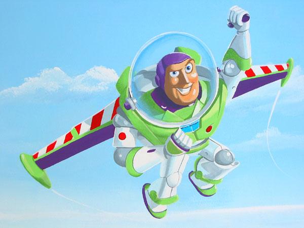 Buzz Lightyear Toy Story Murals Part 73