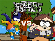 The coon vs bartman poster