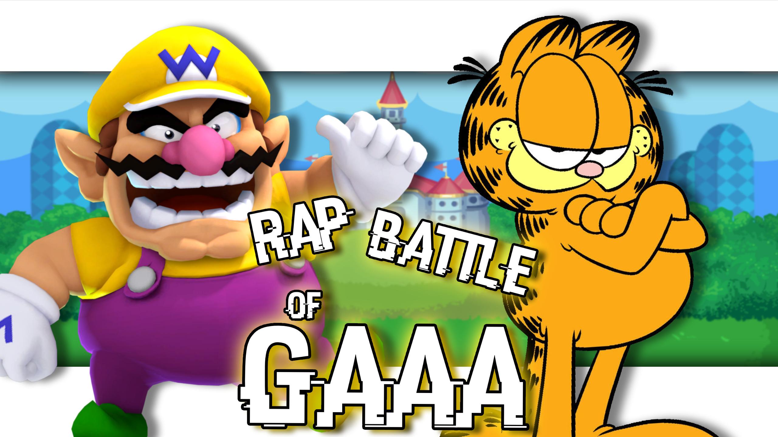 Wario Vs Garfield Wiki Rap Battle Of Gaaa Fandom
