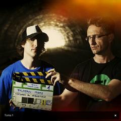 Grabando videoclip <a rel=