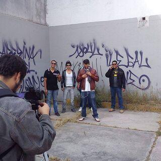 Lúdiko grabando videoclip