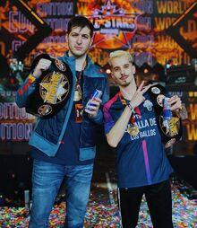 CHUTY y SKONE - Campeones God Level All Stars World Edition 2vs2 2020