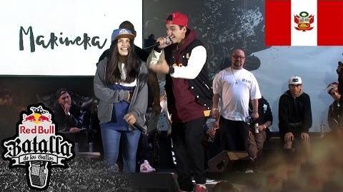 KLIBRE vs ZAKIA - Octavos- Final Nacional Perú 2016 - Red Bull Batalla de los Gallos