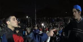 DANI MAMBA vs KLAN FIUCHER - Quinto Escalón 2016