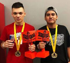 CACHA DOMINIC campeones Pangea 2019