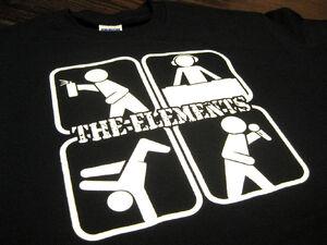 Elementos principales del Hip-Hop en una playera