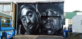 Graffiti hip hop