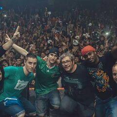 En Monterrey, México, con <a class=