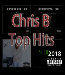 Chris B top hits album cover