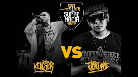 Supremacia Mc Batalla de exhibición Jota (Perú) VS Kaiser (Chile) 2016