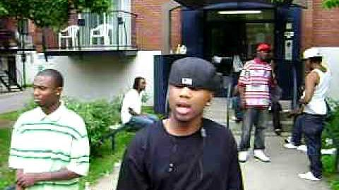REGIE MARVELOUS(160 district)( on da block)MONTREAL RAPPERS