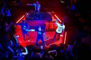 Porta, Eddie MV, Negro MAN y Dj Simao en Cómplices de Mahou en Madrid (25-03-2015)