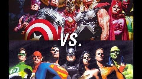 The Avengers vs The Justice League Rap Battle