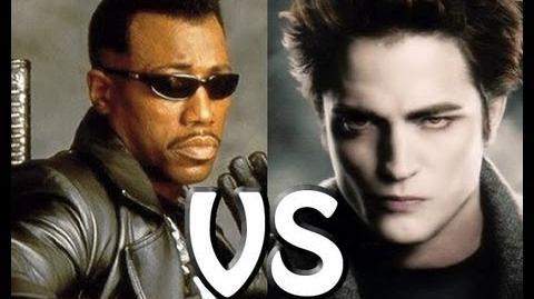 Blade VS Edward Cullen (Twilight) The Rap Battle