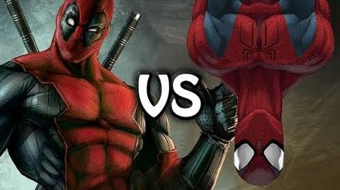 SPIDERMAN VS DEADPOOL THE RAP BATTLE