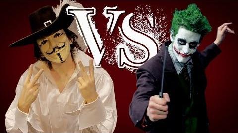 Guy Fawkes vs The Joker. ERB FanMade.-0