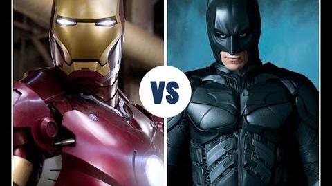 BATMAN VS IRON MAN THE RAP BATTLE
