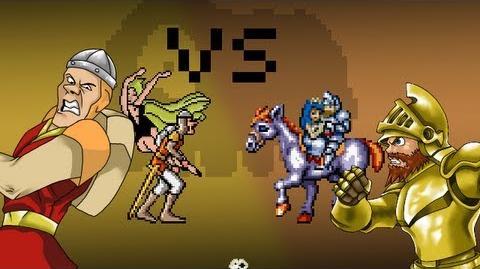 Dirk VS Arthur - The 8Bit Rap Battles 6