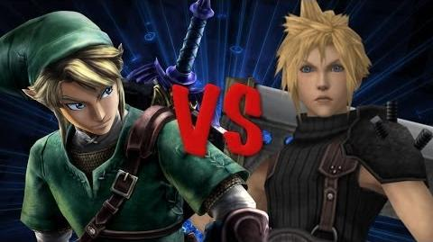 Link vs Cloud THE RAP BATTLE