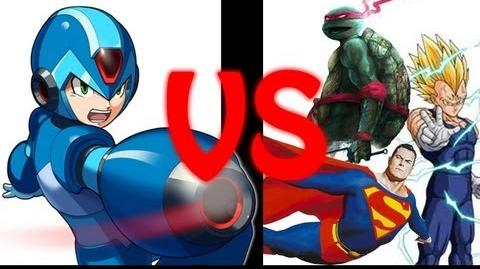 Mega-Man X vs The All-Stars Rap Battle