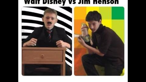 Walt Disney vs Jim Henson
