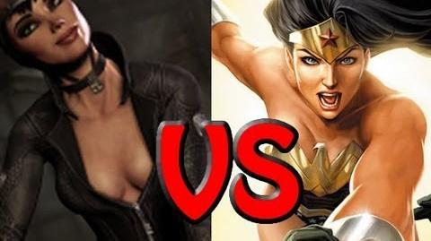 Wonder Woman VS Catwoman - Epic Rap Battles Of Cartoon History