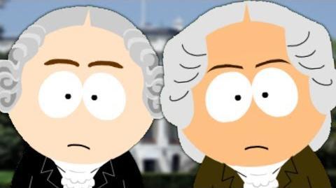 George Washington vs John Adams. Presidents Special