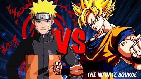 Goku vs Naruto THE RAP BATTLE