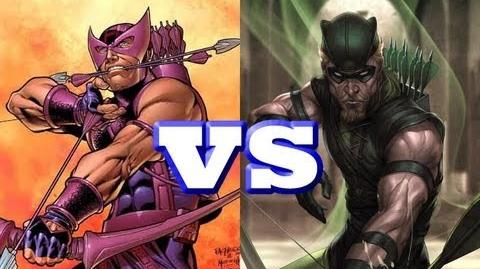 Hawkeye vs Green Arrow THE RAP BATTLE-0