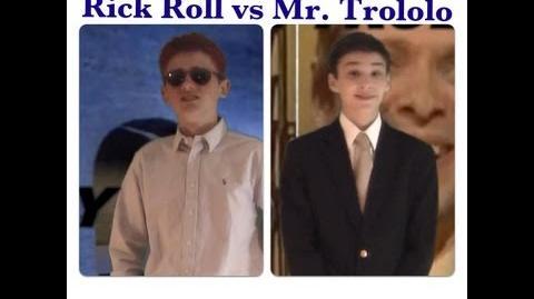 Mr Trololo vs Rick Roll