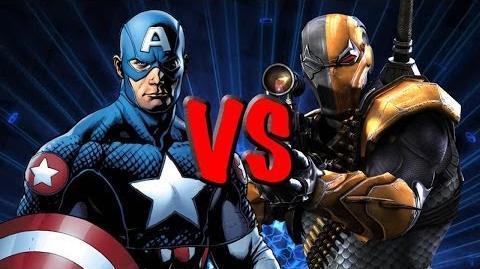 Captain America vs Deathstroke THE RAP BATTLE