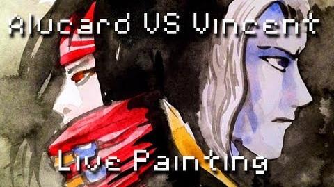 8Bit Drawing - Alucard VS Vincent Valentine & Teaser Battle 4