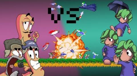 Lemmings VS Worms - The 8Bit Rap Battles 5