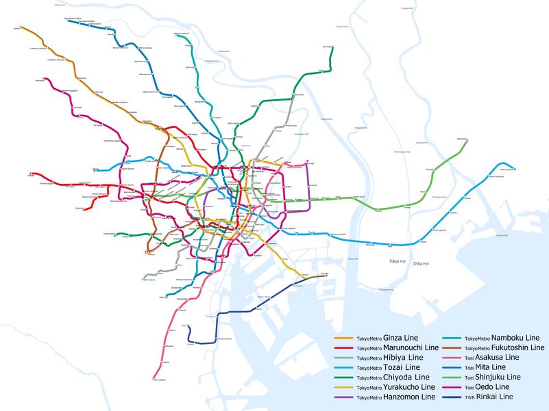 Seoul Subway Map 1989.Toei Subway Rapid Transit Wiki Fandom Powered By Wikia