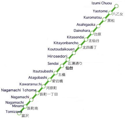 Sendai City Subway Rapid Transit Wiki FANDOM powered by Wikia
