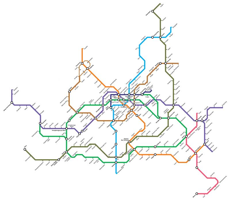 Seoul Subway Map