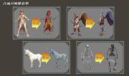 EnhancedSiren,Harpy,Unicorn,Skelly