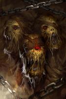 Blight Ogre Evo 2 art card