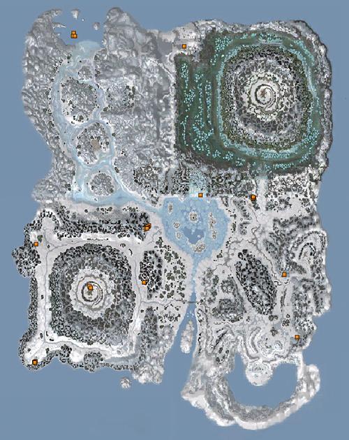 Map - Veiled Island Area